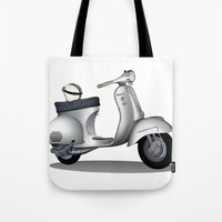 My faith, my voice, vespa my choice ! Tote Bag