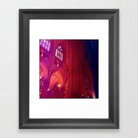Closer To God Framed Art Print