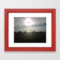 MALIBU 2 Framed Art Print