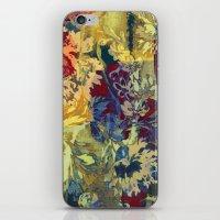 Hide And Seek Floral 2 iPhone & iPod Skin