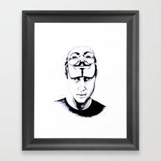 We are the 99% Framed Art Print