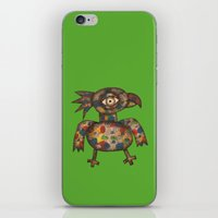 The Green Parrot iPhone & iPod Skin