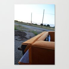 Flipped Canvas Print