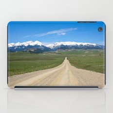 Old Country Road iPad Case