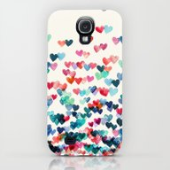 Heart Connections - Wate… Galaxy S4 Slim Case