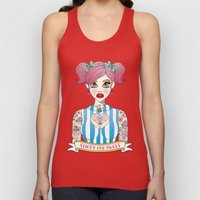 Sticky and Sweet Unisex Tank Top