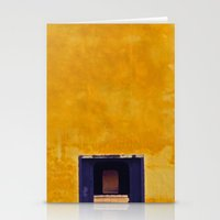 Emperor's Yellow House Stationery Cards