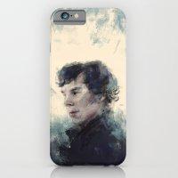 sherlock iPhone & iPod Cases featuring Sherlock by nlmda