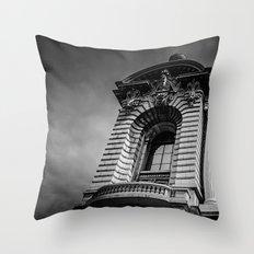 Monte Carlo, Monaco, building Throw Pillow