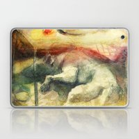 Dog Under A Table With F… Laptop & iPad Skin