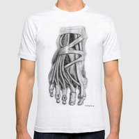 Foot Mens Fitted Tee Ash Grey SMALL