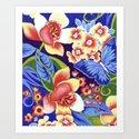 Whimsical Garden Art Print