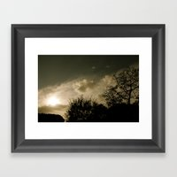 Pastime Framed Art Print