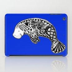 Blue Manatee iPad Case
