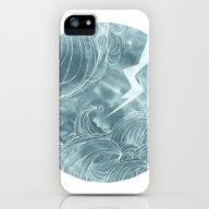 The Wave In A Bubble iPhone (5, 5s) Slim Case