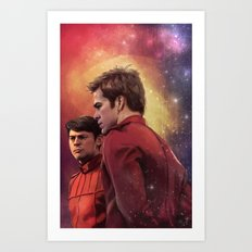 Star Trek: I have loved the stars too fondly to be fearful of the night Art Print