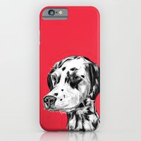Dalmatian Red  iPhone 6 Slim Case