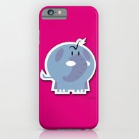 iPhone & iPod Case featuring Angry Elefant by quibe