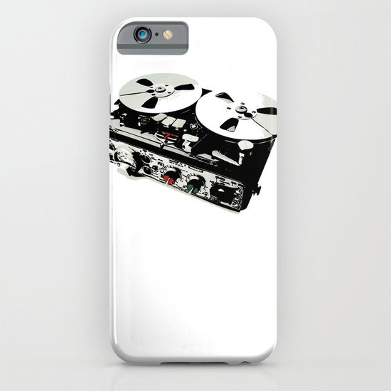 the ultimate tape recorder iPhone & iPod Case