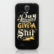 Pay Attention  Galaxy S4 Slim Case