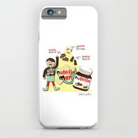 iPhone & iPod Case featuring I {❤} NUTELLA by lilycious