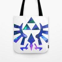 The Legend Of Zelda Trif… Tote Bag