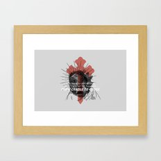 Jesus Survives Infanticide (by Evan Stremke) Framed Art Print