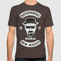 Sons Of Heisenberg Mens Fitted Tee Brown SMALL