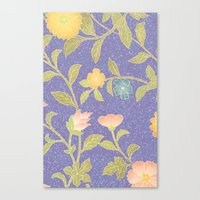 Canvas Print featuring PAINTING FLOWER  by Ylenia Pizzetti