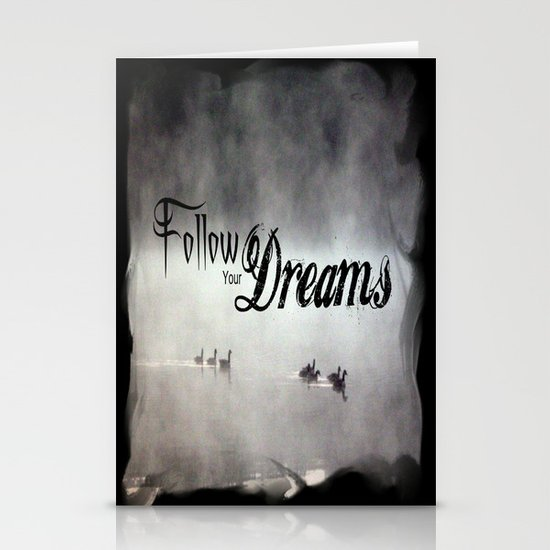 Follow Your Dreams Stationery Card