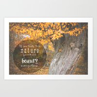 Love Nature Art Print