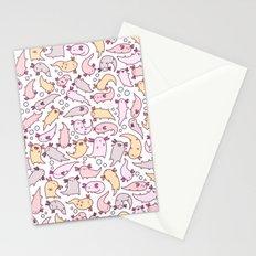 Adorable Axolotls Stationery Cards