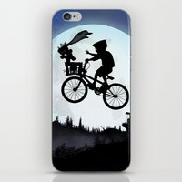 E.T Kid iPhone & iPod Skin