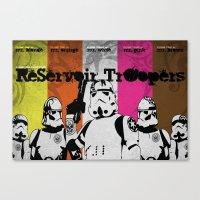 ReServoir TrOopers Canvas Print