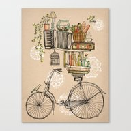 Canvas Print featuring Pleasant Balance by Florever