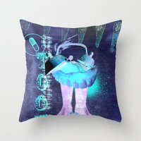 l'arracheur de dent Throw Pillow