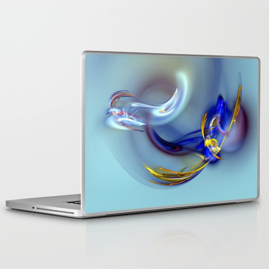 Dove or Witch - Fight in the Soul of a Woman Laptop & iPad Skin