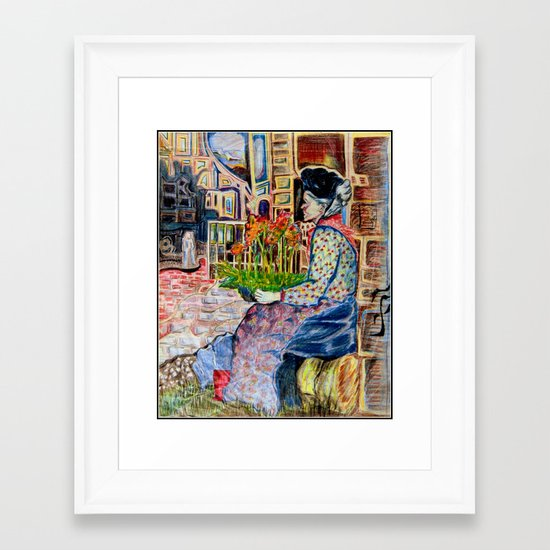 Penny Lane Framed Art Print