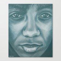 Ms.think Canvas Print