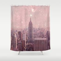Stardust Covering New Yo… Shower Curtain