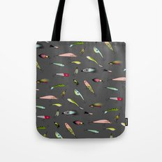 Fishing baits Tote Bag