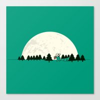 Christmas The 25th Canvas Print