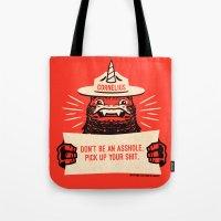 Ranger Cornelius Says... (swears) Tote Bag