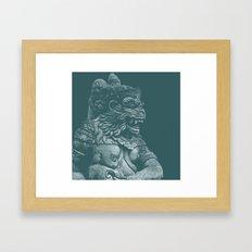 Monkey King Framed Art Print