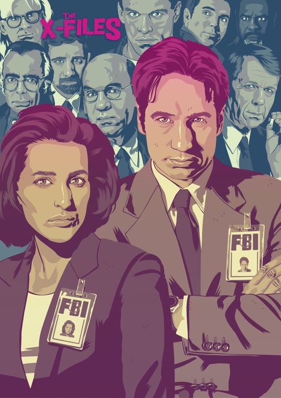 THE X-FILES v2 Art Print