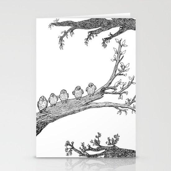 Awake Stationery Card