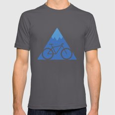 Off The Beaten Track Mens Fitted Tee Asphalt SMALL