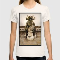 Medieval Nightmare Womens Fitted Tee Natural SMALL