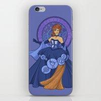 Gallifreyan Girl iPhone & iPod Skin