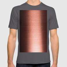 Copper Mens Fitted Tee Asphalt SMALL